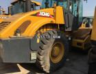 嘉峪关二手振动压路机公司,22吨26吨单钢轮二手压路机买卖