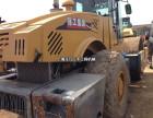 淄博二手振动压路机公司,22吨26吨单钢轮二手压路机买卖