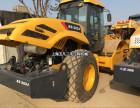 长沙二手振动压路机公司,22吨26吨单钢轮二手压路机买卖