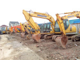 临沂二手挖掘机市场,小松220-8 360和240挖掘机
