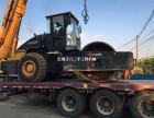 自贡二手振动压路机公司,22吨26吨单钢轮二手压路机买卖