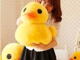 黄色小鸭子公仔香港大黄鸭抱枕鸭 广州广东毛绒玩具加工设计