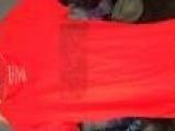 2014美国潮牌专柜新款女装外贸原单正品大牌棉氨纶短袖T恤女尾单