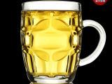 厂家特价玻璃马克杯 创意礼品 玻璃工艺品 日用百货 透明啤酒杯