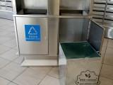 户外物业小区不锈钢垃圾桶定制不锈钢垃圾箱厂家直销