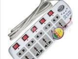 批发 大功率豪华大插排 正品国标鑫超XC-9861J 电压显示