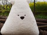 普雷森 原创正版 时尚 可爱 卡其色 大狗 三角狗 毛绒玩具 靠