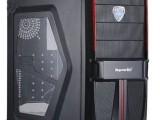 玩游戏电脑,台式机主机4G内存,500G硬盘,2G显卡