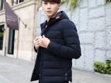 男士外套棉衣冬季新款男装韩版修身短款棉袄羽绒棉服厂家批发