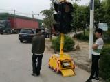 300型太陽能移動式四面紅黃綠滿屏三單元交通信號燈價格