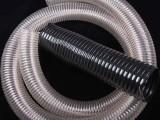 pu透明通风聚氨酯钢丝伸缩软管鑫茂除尘环保通风管