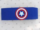 儿童美国队长腰带男童女童超人蝙蝠侠运动休闲表演装饰腰带速卖通