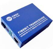 汉源高科生产供应百兆单模双纤光纤收发器 ,光电转换器