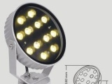 LED灯具厂家 圆形LED投光灯 户外广告泛光灯 舞台射灯