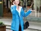实拍2014冬装加厚修身大码外套韩版中长款大毛领羽绒服女yrf