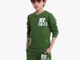 左爱佑童 2014春装男童中大童装韩版NF儿童运动服装休闲儿童套