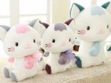 儿童节礼物蓝白玩偶猫公仔嘟嘟猫毛绒玩具可爱创意生日礼物送女友