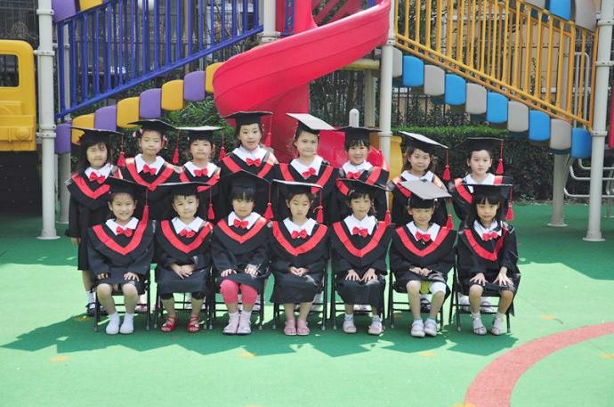 幼儿园小学团体照 毕业合影 博士服合影 单照