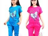 童装女童夏装新款中大童韩版套装13岁14岁15岁16岁女孩纯棉套