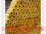 优惠 供应优质玻璃棉管壳/玻璃棉管批发/浙江贴箔玻璃棉管