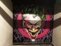 用涂鸦遮盖手绘墙--北京DNA涂街头鸦团队
