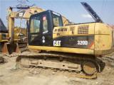 懷化二手挖掘機卡特320小松200220出售中型二手挖掘機