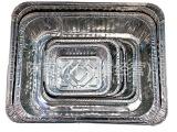 厂家直销 烧烤烘焙用铝箔盘 餐馆一次性铝箔餐盒 2550铝箔盒批