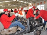 保定满城学汽修汽车电工电路维修就到保定高级轿车专修学校