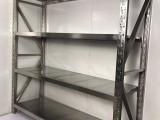 广州厂家直销304不锈钢货架 厨房专用不锈钢货架 仓储货架