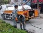 禅城附近大型高压车清理大下水道,市政管道 雨水沙井等