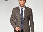正品玛尼男装西服 新款单西中青年男士商务休闲西装春秋款外套