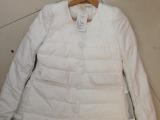 2014新款冬外套女欧洲站修身棉衣中长款背后系带蕾丝棉服棉袄