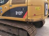河南许昌二手卡特312D挖掘机整车原版低价出售中