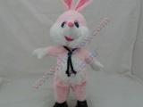 批发电动搞笑玩具摇头兔子摇头唱歌玩具