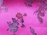 高档人丝织锦缎丝绸唐装旗袍靠垫面料