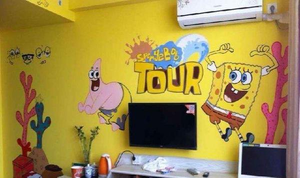墙体彩绘 幼儿园 家装 KTV 主题宾馆 寺庙壁画图片