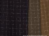 乔阳纺织 粗纺毛呢面料 男装格子呢料 麦呢格子 休闲服 西装面料
