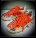2014运动迷彩网纱微信女鞋透气舒适休闲运动女单鞋批发一件代发