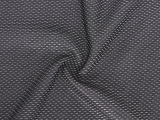 天然染色面料现货供应 纬编全涤色织鸟眼布 服装里布针织面料