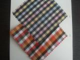 涤棉色织布面料 色织提花布 格子布 色织