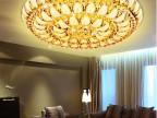 批发2015欧式高档精美客厅卧室餐厅聚宝盆款水晶灯LED吸顶灯灯具