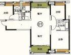 急!急!中海锦城大3房望江户型,过两年无重税 超抵价285万