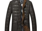 冬季装新款加厚高档皮衣外套PU面料修身短款立领皮大衣男士外套