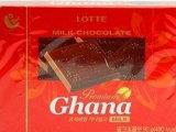 正品韩国原装进口零食品 Lotte乐天红加纳巧克力90g 乐天黑