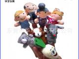 各种小动物手指偶毛绒玩具加工定制 东莞I