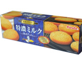 日本进口零食 furuta富路达特浓牛奶味曲奇 夹心饼干103g