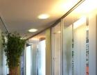 玻璃隔断、高隔间、感应门、玻璃门、高隔断等玻璃加工