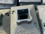 山东铸铁护栏底座,80口100口,路墩,铸铁底座