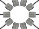 廣東高品質鉆石磨棒 專業定做金剛砂磨頭 磨棒鍍砂翻新