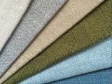 厂家直销 优质涤阳仿麻色织平板沙发布料 家纺面料 窗帘装饰布